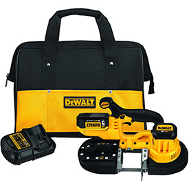 DeWALT DCS371P1 20V MAX Cordless Band Saw Kit (5.0AH) by