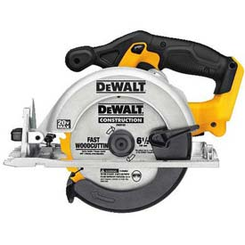 "DeWALT 6-1/2"" Circular Saw Tool Only, DCS391B, 3700 RPM, 2-1/4"" Cut..."