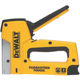 DeWALT DWHTTR350 Heavy Duty Aluminum Staple Gun & Brad Tacker Package Count 4 by