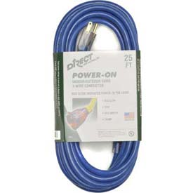 Direct Wire 12/3 Xcord Blue 25' LIT