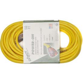 Direct Wire 12/3 Xcord Yellow 50' LIT