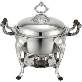 Winco 708 Half-Size Round Chafer, 4 Qt., Economy by