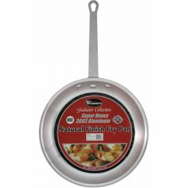 Winco AFP-8A Fry Pan Package Count 6 by