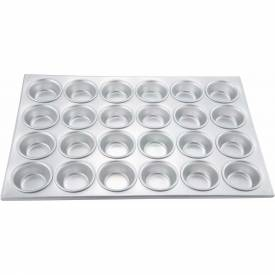 Winco AMF-24 Muffin Pan, 24 Cup Package Count 12 by