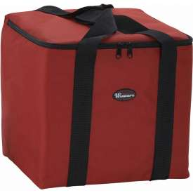 Winco BGDV-12 Pizza Delivery Bag Package Count 6 by