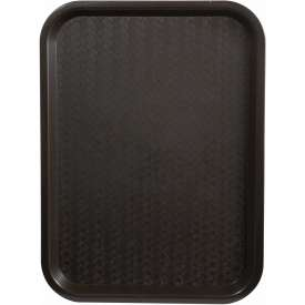 """Winco FFT-1014B Fast Food Tray, Brown, 10""""x 14"""" Package Count 12 by"""