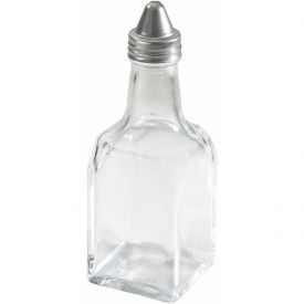 Winco G-104 Oil/Vinegar Cruets with Cone Tops by