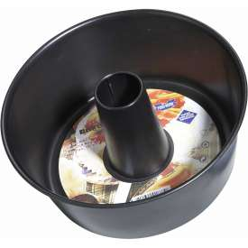 "Winco NACP-10 Non-Stick Angel Cake Pan, 10""D, 4""H, Carbon Steel - Pkg Qty 12"