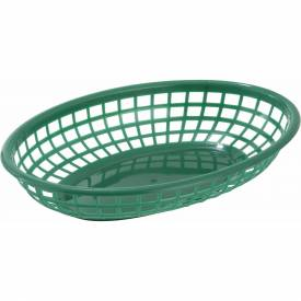 Winco PFB-10G Oval Fast Food Baskets Package Count 3 by