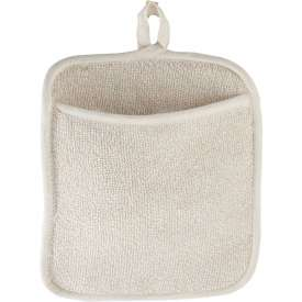 Winco PH-9W Terry Pot Holder w/Pocket White by