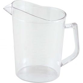 Winco PMU-100 Measuring Cup, 1 Qt, Clear, Polycarbonate Package Count 36 by