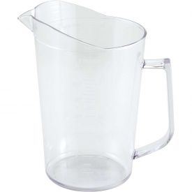 Winco PMU-200 Measuring Cup, 2 Qt, Clear, Polycarbonate Package Count 36 by