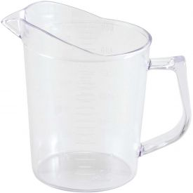 Winco PMU-50 Measuring Cup, 1 pt, Clear, Polycarbonate Package Count 36 by