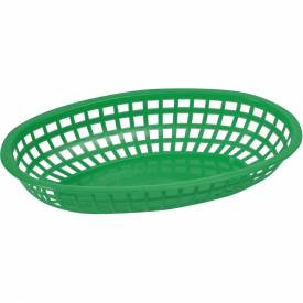 Winco POB-G Oval Fast Food Baskets by