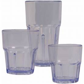 "Winco PTSN-16 Havana Tumbler, 16 oz, 11.63""H Package Count 4 by"