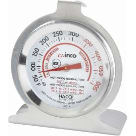 Buy Winco TMT-OV2 Dial Oven Thermometer with Base and Hook Package Count 24