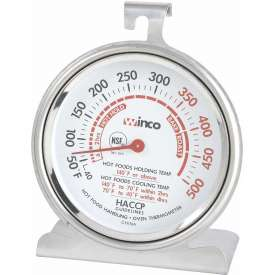 Buy Winco TMT-OV3 Dial Oven Thermometer with Base and Hook Package Count 24
