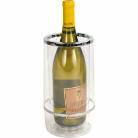 "Winco WC-4A Wine Cooler, 4-1/2""D, 9""H, Clear, Acrylic Package Count 12 by"