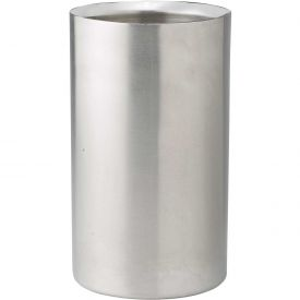 "Winco WC-5 Double Wall Wine Cooler, 4-1/2""D, 8-3/4""H, Stainless Steel Package Count 6 by"