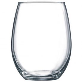 "Winco WG06-001 Gem Stemless Wine Glass, 15 oz, 4-5/16""H by"