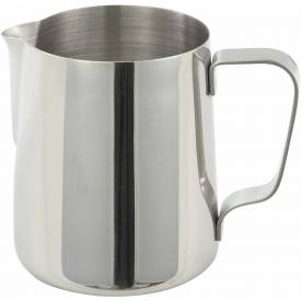 """Winco WP-14 Pitcher, 14 oz, 3-1/2"""", Stainless Steel - Pkg Qty 15"""