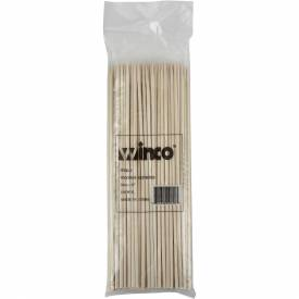 """Winco WSK-08 Bamboo Skewers, 8""""L Package Count 30 by"""