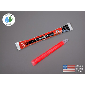 """Datrex 6"""" SnapLight Light Sticks, Red 1/Case ER0051M-RD Package Count 10 by"""