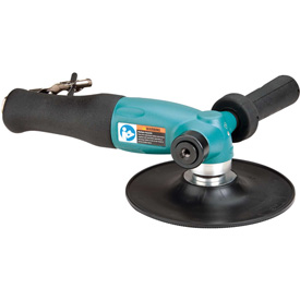 """Dynabrade 52657 7"""" Dia. Right Angle Disc Sander, 1.3HP, 6,000 RPM by"""