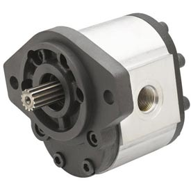"Dynamic Hydraulic Gear Pump 0.07 cu.in/rev, 1/2 "" Dia. Straight Drive Shaft"