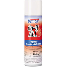 Dymon Do-It-All Germicidal Foaming Cleaner, 18 Oz. Aerosol 12/Case - ITW08020CT