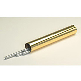 "Mailing Tube With Cap, 12""L x 2"" Diameter x 0.06 Wall Thickness, Gold, 50 Pack"