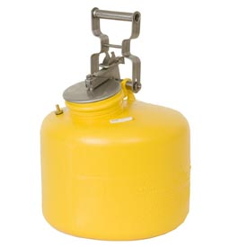 Eagle Disposal Can Poly - Yellow - 3 Gallons, 1515