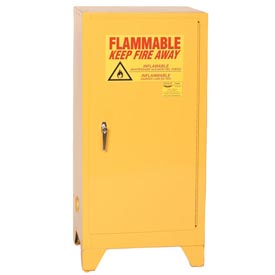 Eagle Flammable Liquid Tower™ Safety Cabinet with Manual Close - 16 Gallon