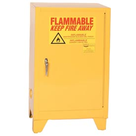 Eagle Flammable Liquid Tower™ Safety Cabinet with Manual Close - 12 Gallon