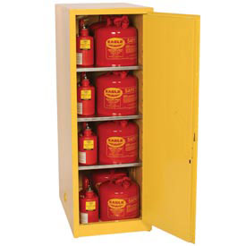 Eagle Flammable Liquid Safety Cabinet with Self Close - 48 Gallon