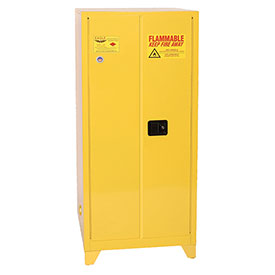 Eagle Flammable Liquid Tower™ Safety Cabinet with Self Close - 60 Gallon