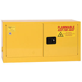 Eagle Flammable Liquid Safety Cabinet with Manual Close - 15 Gallon