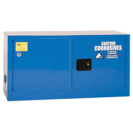 Eagle Acid & Corrosive Cabinet with Manual Close - 15 Gallon