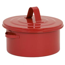 Eagle Bench Can - Metal - Red - 2 qt., B-602