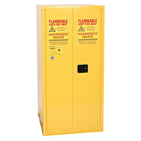 Eagle Hazmat Cabinet with Manual Close - 55 Gallon