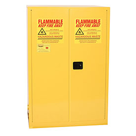 Eagle Hazmat Cabinet with Manual Close - 60 Gallon