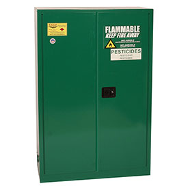 Eagle Pesticide Safety Cabinet with Manual Close - 45 Gallon