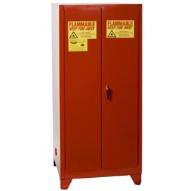 Eagle Paint/Ink Tower™ Safety Cabinet with Manual Close - 96 Gallon