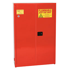 Eagle Paint/Ink Safety Cabinet with Self Close - 30 Gallon Red