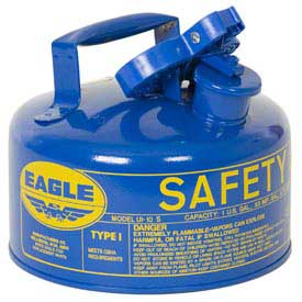 Eagle Type I Safety Can - 1 Gallon - Blue, UI-10-SB