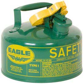 Eagle Type I Safety Can - 1 Gallon - Green, UI-10-SG