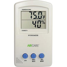 AIRCARE Hygrometer/Thermometer 1990