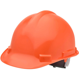 Elvex VOLT Hardhat W/4 Pt. Ratchet Suspension, Orange, WELSC1004RORG by