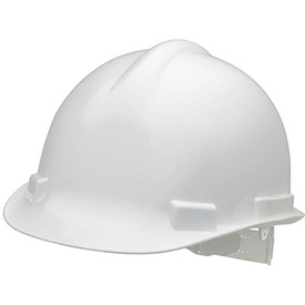 Elvex VOLT Hardhat W/4 Pt. Ratchet Suspension, White, WELSC1004RW by