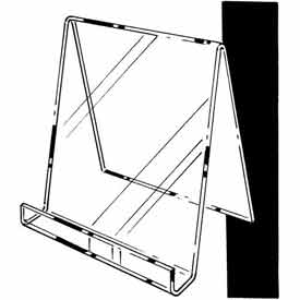 """9""""W X 11""""H Easel W/ 1""""D Opening - Clear - Pkg Qty 12"""